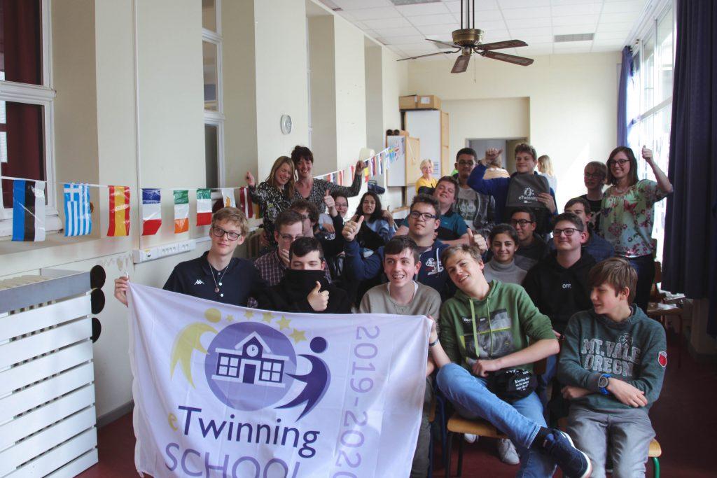 Leerlingen BuSO ontvangen prijs voor integratie via eTwinningproject.